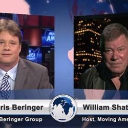 Chris beringer and William Shatner